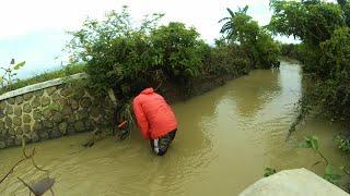 Aksi Heroik Pilot Drone MJX Bugs B7 Penyelamatan di Sungai