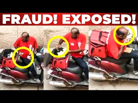 SHOCKING: Watch This Before Ordering Food From Zomato App | Zomato Delivery Boy Fraud! Exposed!