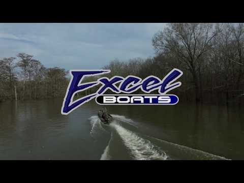 Excel 1860 Shallow Water F4 OFP video