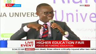 Higher Education Fair organised by the Standard Group ongoing at KICC