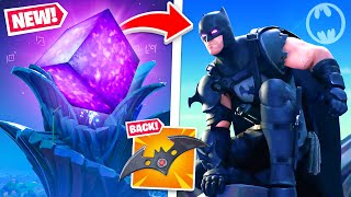 Batman's *BIG SECRET* in Fortnite! (FREE UNLOCKS!)