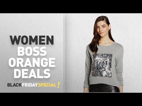 Black Friday Women Boss Orange Deals: Boss Orange Women's Talook Sweatshirt