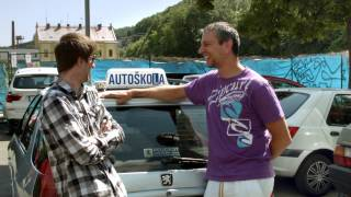 Hele Autoškola Karlín Rozhovor Tomáše s učitelem Járou