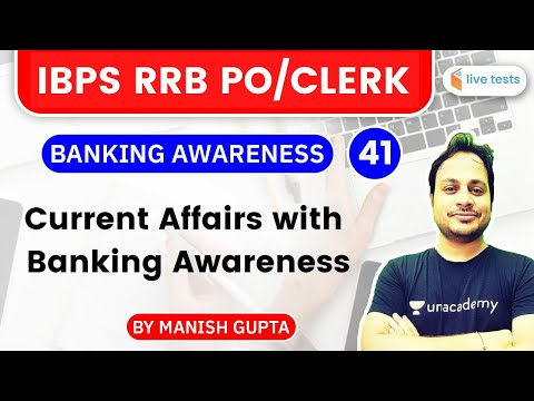 3:00 PM - IBPS RRB PO & Clerk 2020 Mains | Banking Awareness by Manish Gupta | Current Affairs