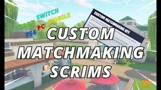 custom matchmaking key xbox ps4 pc fortnite live stream - matchmaking key fortnite scrims