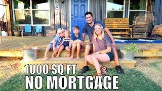 Debt Free Family of 5 - build 1000 sq ft Home NO Mortgage | Latigo Life