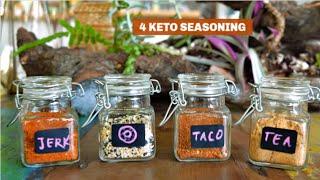 Homemade Seasonings Recipes | Keto Recipes | Indian Keto