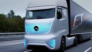 Грузовик будущего Future Truck от компании Mersedes-Benz