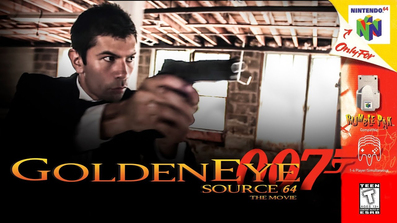 Bond Takes All Comers In Real-Life Re-Enactment Of N64 GoldenEye