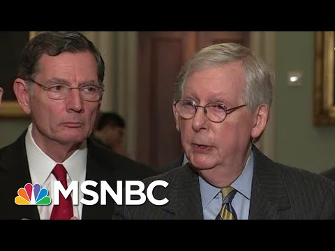 McConnell Says Impeachment Trial Against President Trump Will Begin Next Tuesday | Katy Tur | MSNBC