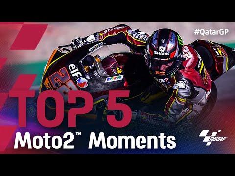 Moto2 2021 第1戦カタールGP 決勝レースのハイライト動画