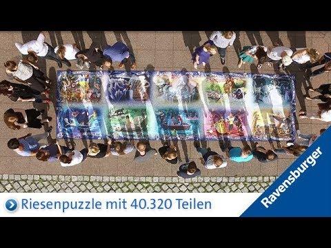 Ravensburger Puzzle: Das größte Puzzle von Ravensburger mit 40.320 Teilen