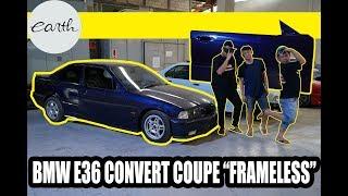 Modifikasi BMW E36 Convert 2 Doors Coupe #carvlog