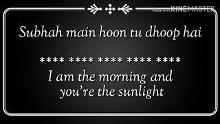 Pal ek pal Lyrics - Arijit Singh & Shreya Ghoshal - YouTube