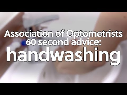 60 second advice: handwashing