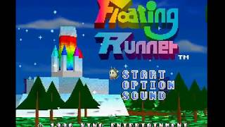 PSX Longplay [596] Floating Runner - Quest for the 7 Crystals
