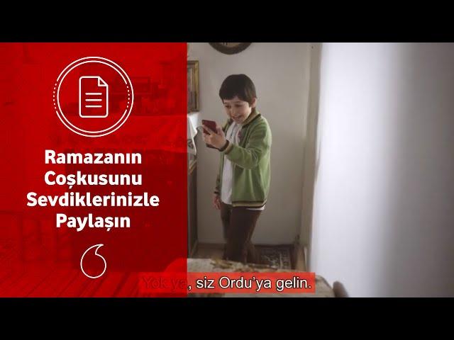 Ramazan Boyunca Vodafone Yanımda'da 20 GB sadece 20TL!