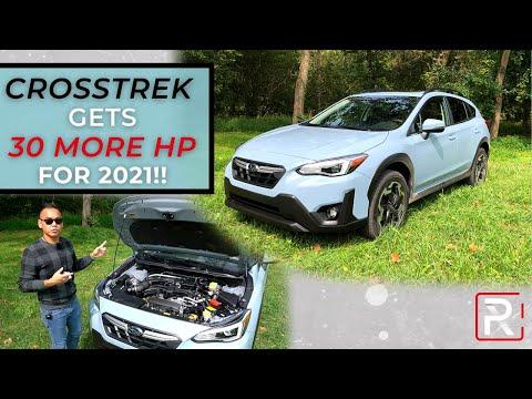 The 2021 Subaru Crosstrek is an Even Better Small SUV