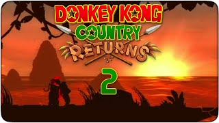 preview picture of video 'Donkey Kong Country Returns #02 - Sobre raíles'