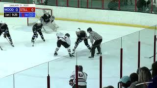 Stillwater Vs Woodbury Girls Hockey (Full Game) : January 21, 2020