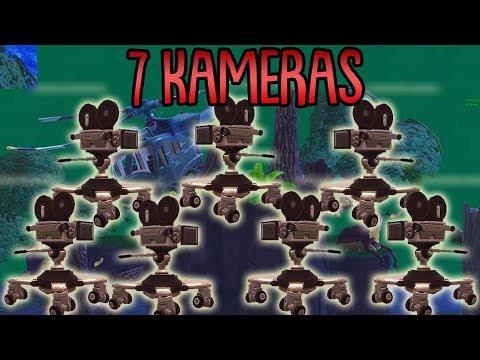 Fortnite: Tanze vor verschiedenen Filmkameras! | (7 Kameras) | Fortnite Battle Royale