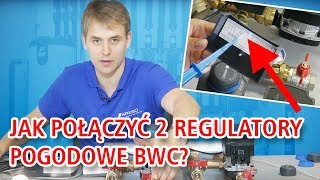 Jak połączyć 2 regulatory pogodowe BWC 310 i sterować 2 obiegami mieszającymi
