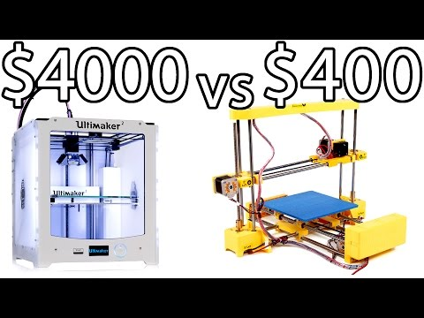 ULTIMAKER 2 vs PRINT-RITE DIY 3D Printer & How to Bed Level - PRINTER PARTY | Make Test Battle
