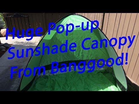 IPRee Outdoor Sunshade Canopy Tent