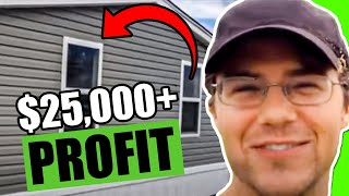 1976 3 2 Buy Fix Flip Mobile Home With 25000 Profit