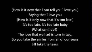 I'll Take The Tears by A1 with Lyrics