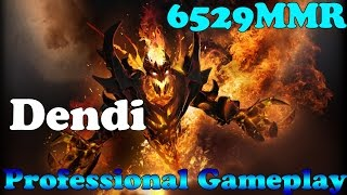 Dota 2 - Dendi Professional Shadow Fiend - Ranked Match!