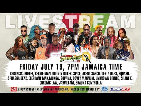 Reggae Sumfest Friday Night July 19