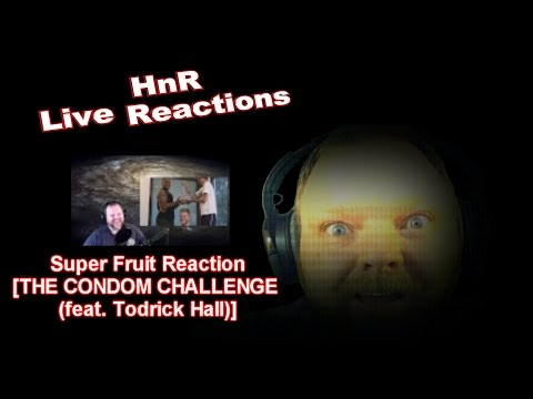 Super Fruit Reaction [THE CONDOM CHALLENGE (feat. Todrick Hall)]