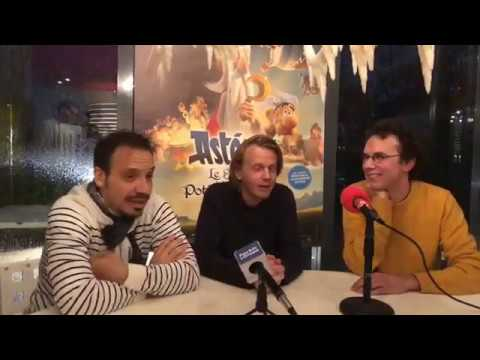 Film ASTERIX Interview ALEXANDRE ASTIER , ALEX LUTZ