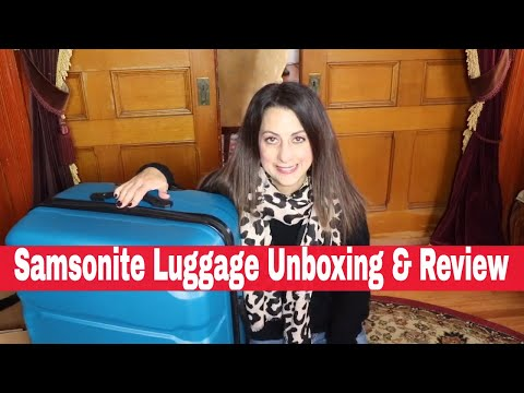 Samsonite Luggage Unboxing & Review 2019