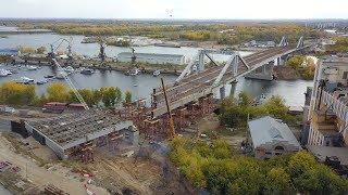Фрунзенский мост соединил берега