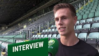 """Lorenzo van Kleef: """"Mooi om voor mijn eigen club te spelen"""""""