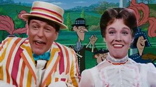 Supercalifragilisticexpialidocious  - Julie Andrews & Dick Van Dyke in Mary Poppins 1964