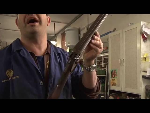 Restauro fucili da caccia