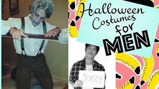 Easy Halloween Costumes For Men | Christian Layese