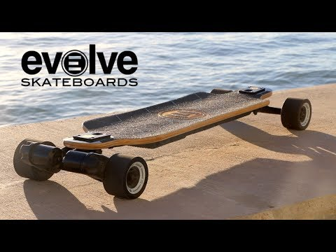 Evolve Bamboo GTX! | High Powered Electric Skateboard