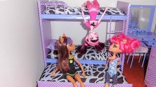How to make a bunk bed for doll (Monster High, Barbie, etc)