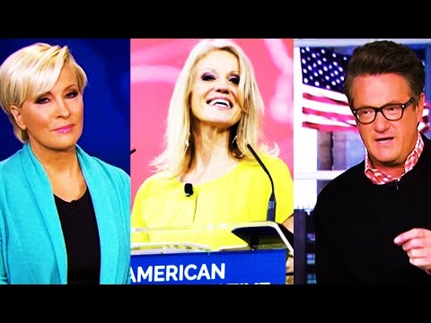 Morning Joe: Joe & Mika SAVAGELY BASH Kellyanne Conway, Say Conway Trashed Trump Off Air