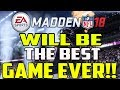 THIS NEW FEATURE WILL MAKE MADDEN 18 THE BEST ONE EVER!!