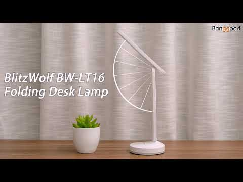 , title : 'BlitzWolf BW-LT16 Folding Desk Lamp with Automatic RGB Lighting Base | Touch Control | Banggood'