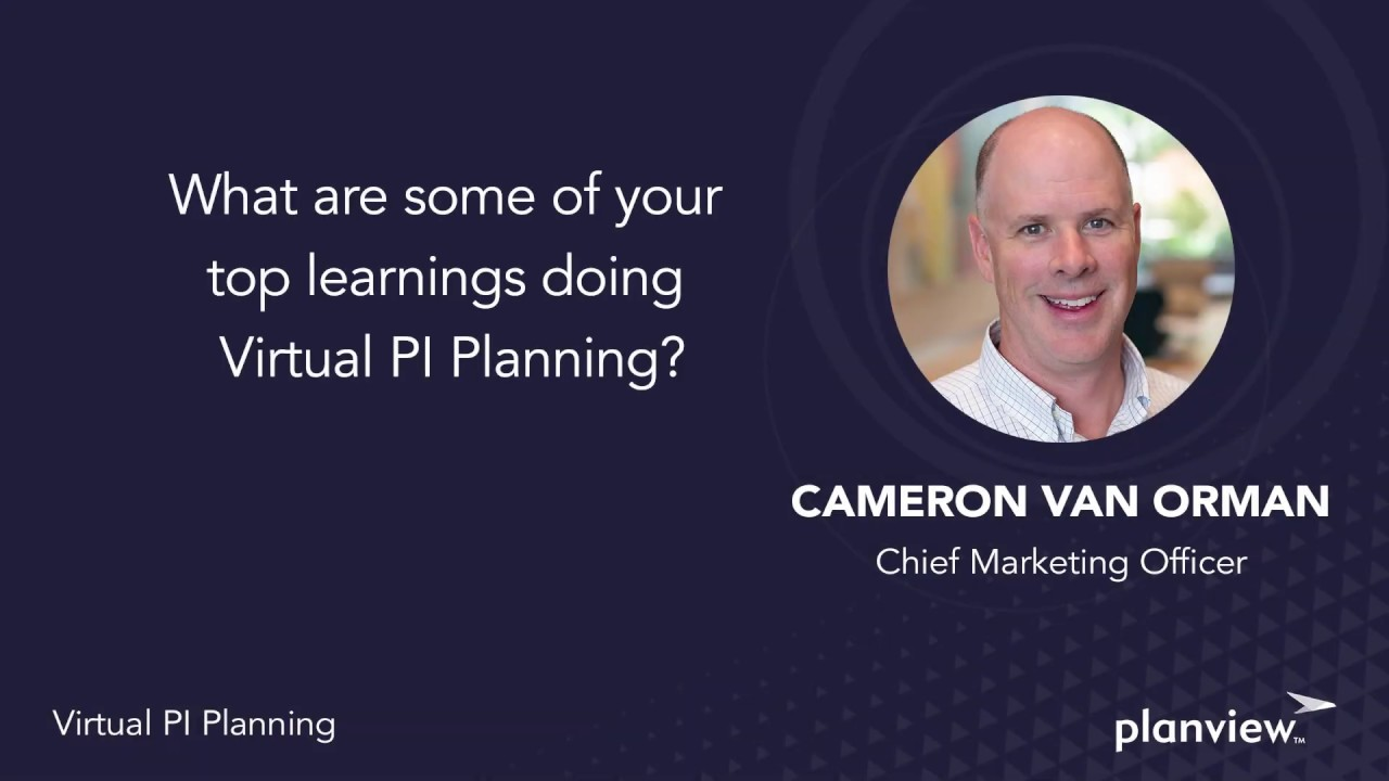 Video: What are some of your top learnings doing virtual PI planning?