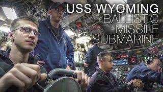 Life Aboard US Navy Ballistic Missile Submarine USS Wyoming – In Stunning 4K