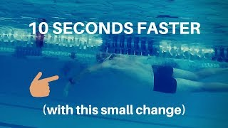 10 Seconds Faster With This Small Change