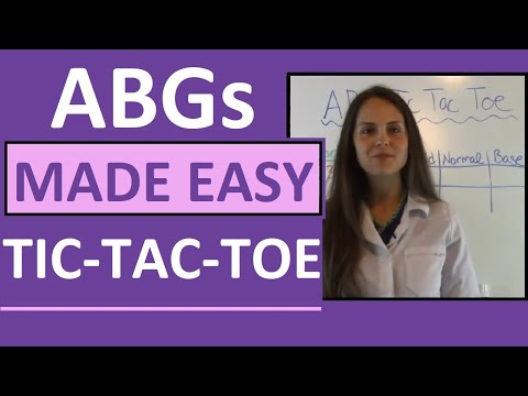 ABGs Made Easy For Nurses W/ Tic Tac Toe Method For Arterial Blood Gas Interpretation Mp3