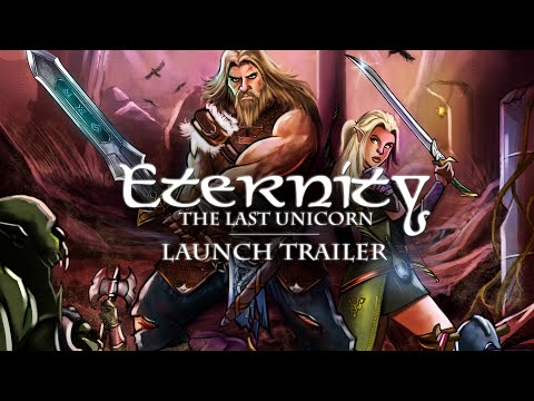 Eternity: The Last Unicorn - Launch Trailer | PC, PS4 thumbnail